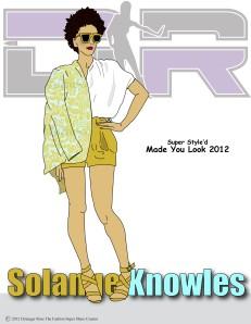 Yellow Emma Cook Leather Shorts/ Marni Jacket/ Zanotti Sandals