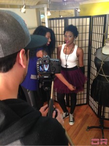 Tips of Fashion & Style Video Shoot