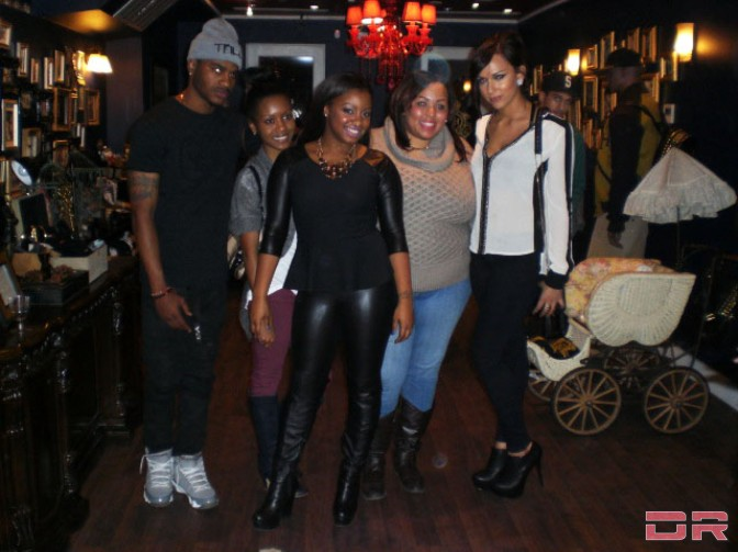 Fame, Shante Hines, Miyosha Biggs, Tiafah Layne and Ashley K.
