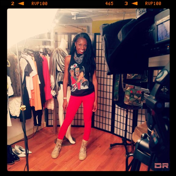 Fab Style Video Shoot At Awedacity Boutique