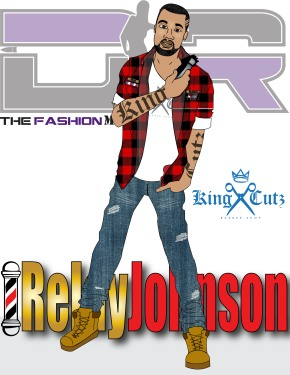 Relay Johnson owner of King Cutz Barber Shop franchise