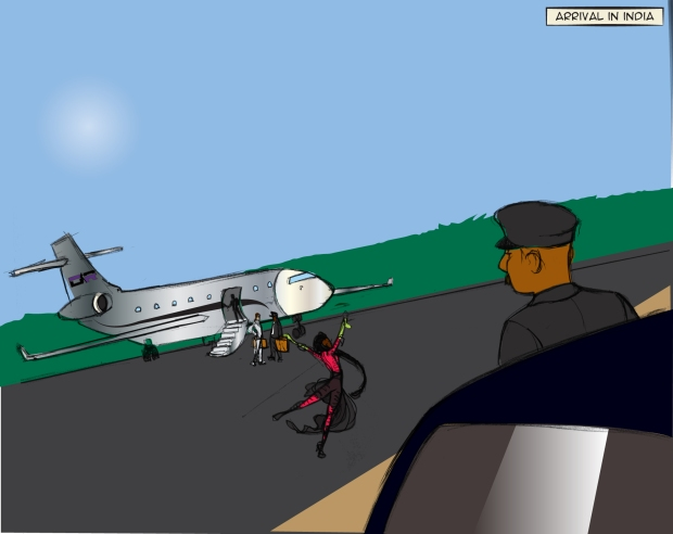 DRIVER AND PLANE
